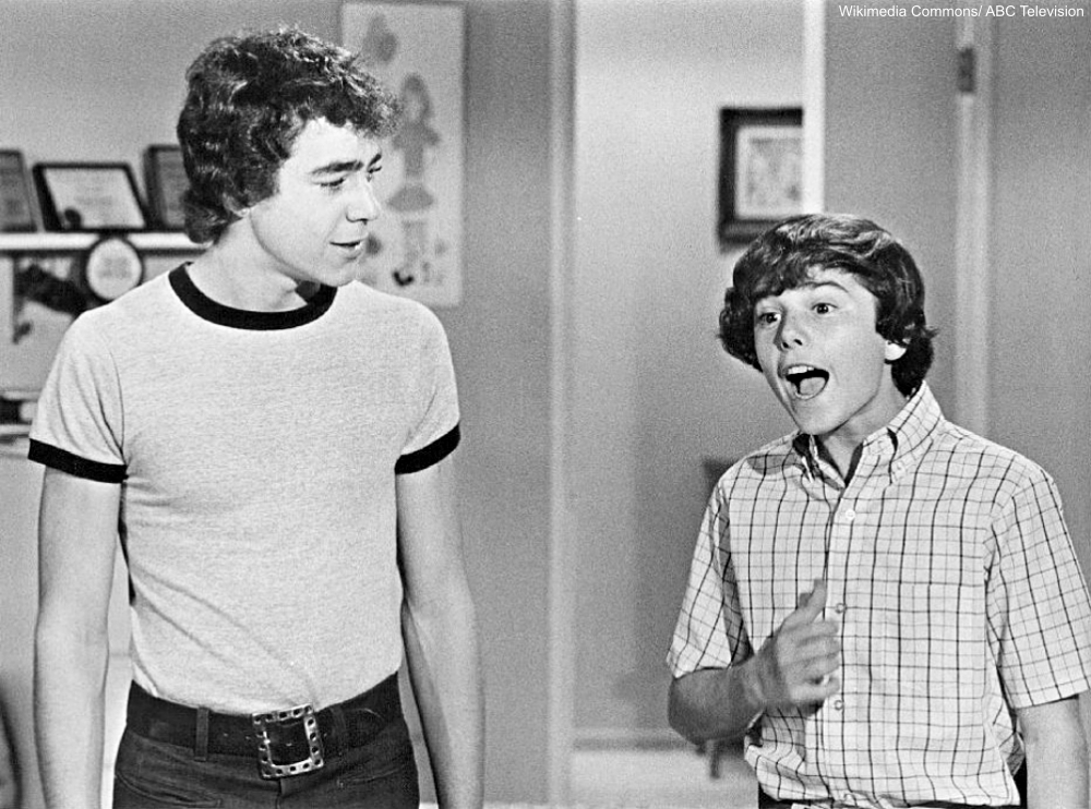 Barry Williams and Christopher Knight on The Brady Bunch