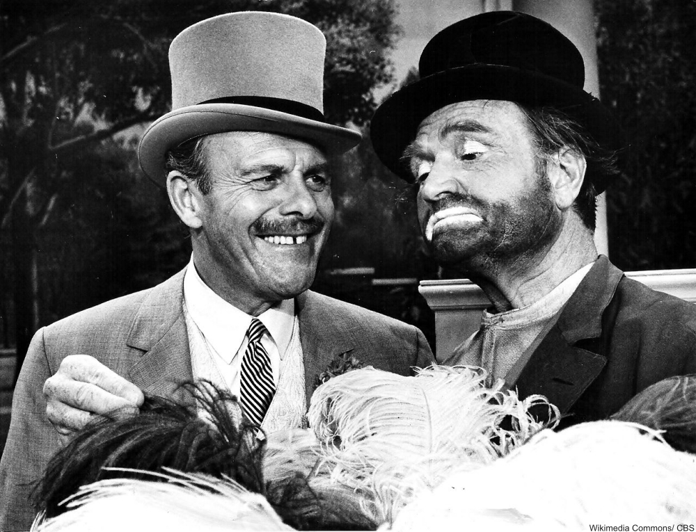 Terry Thomas and Red Skelton 1967