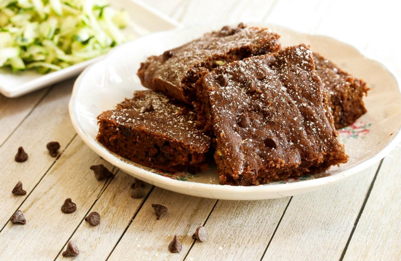 Chocolate Chip Zucchini Brownies – 12 Tomatoes