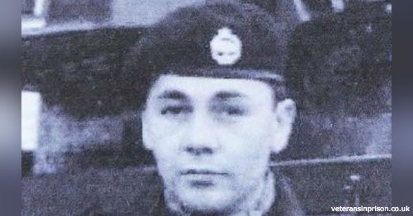 Jimmy Johnson served in the Royal Tank Regiment for 10 years before being honorably discharged.
