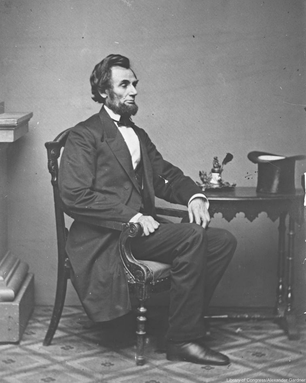 President Lincoln Seated