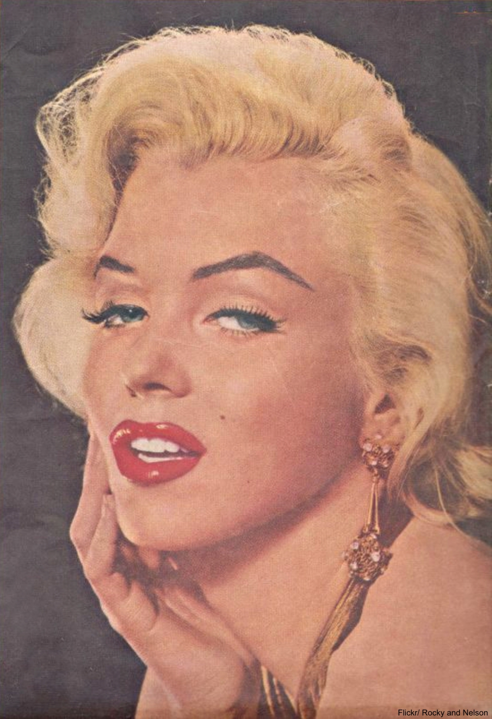 Marilyn Monroe on Movie Life Cover