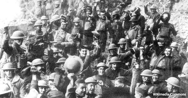 World War I raged through Europe from 1914 to 1918.