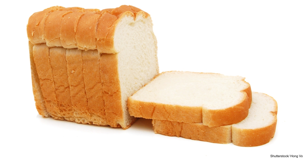 Sliced White Bread Loaf