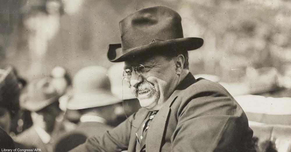 Theodore Roosevelt Circa 1910