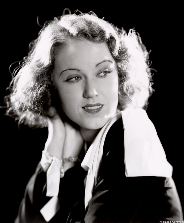 Fay Wray Portrait