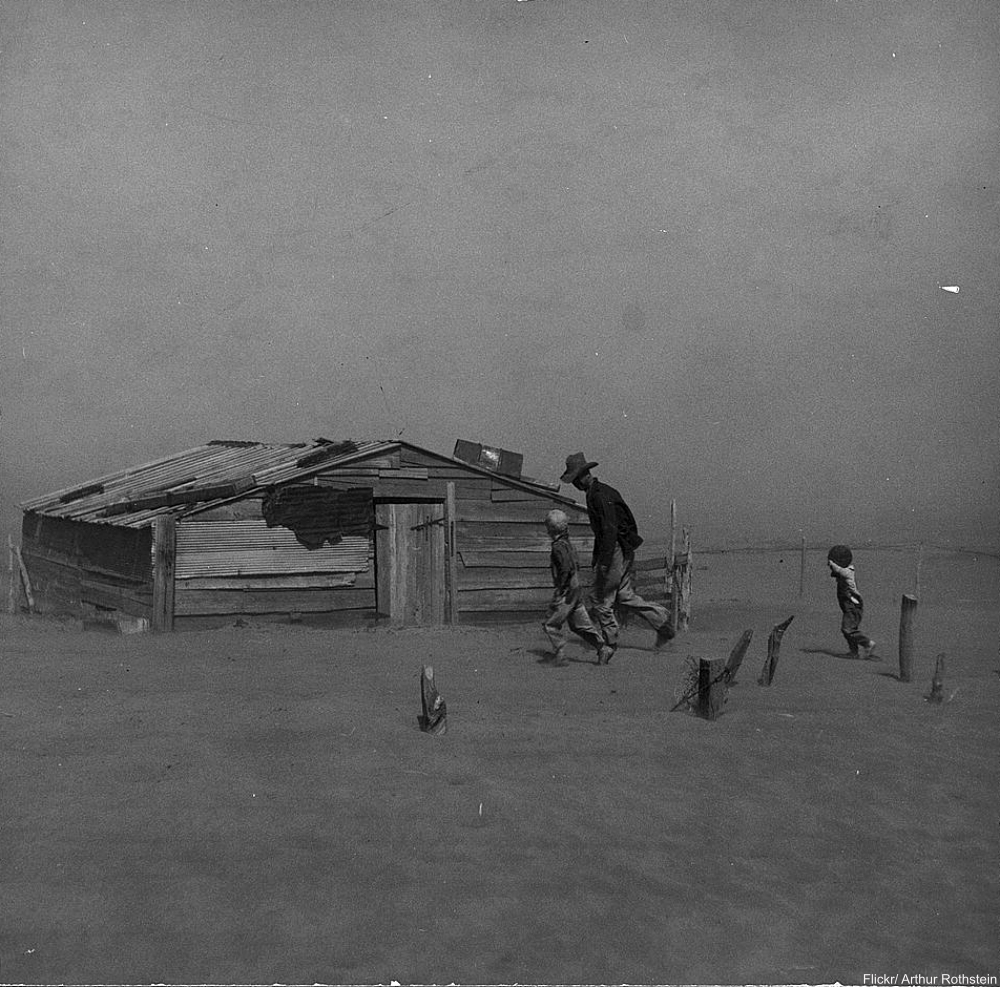 Arthur Rothstein Dust Bowl Photo  Oklahoma 1936