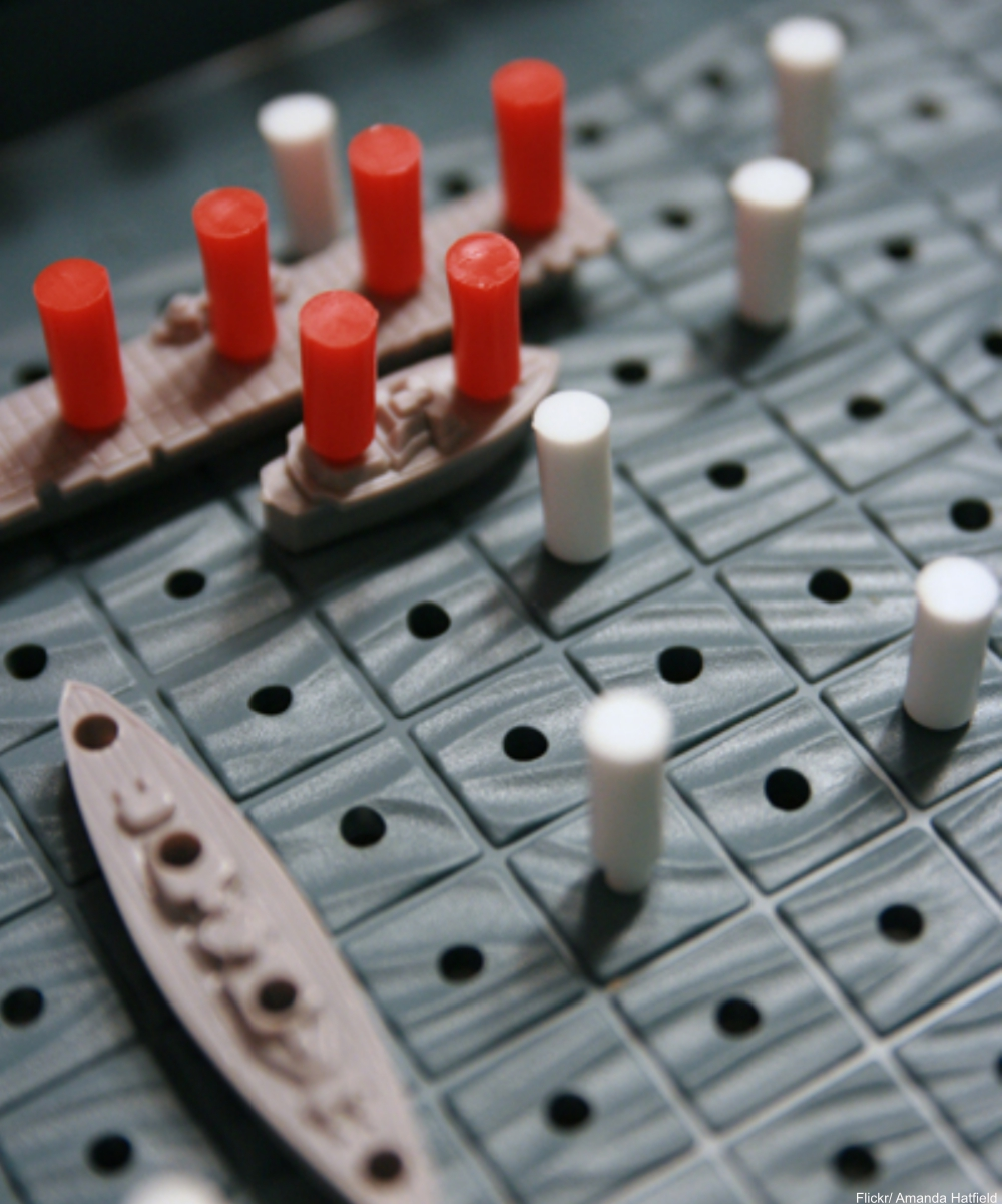 Battleship Game Pieces