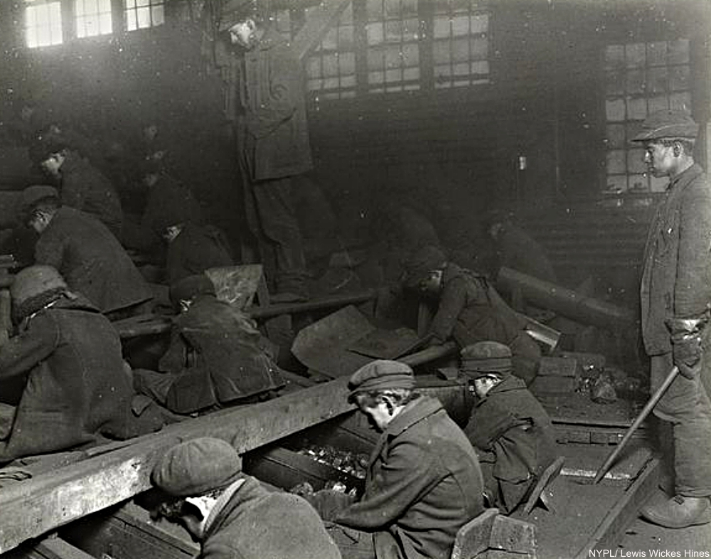 Breaker Boys Circa 1911