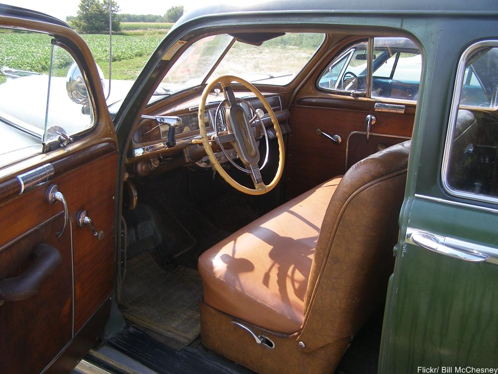 1946 DeSoto Interior