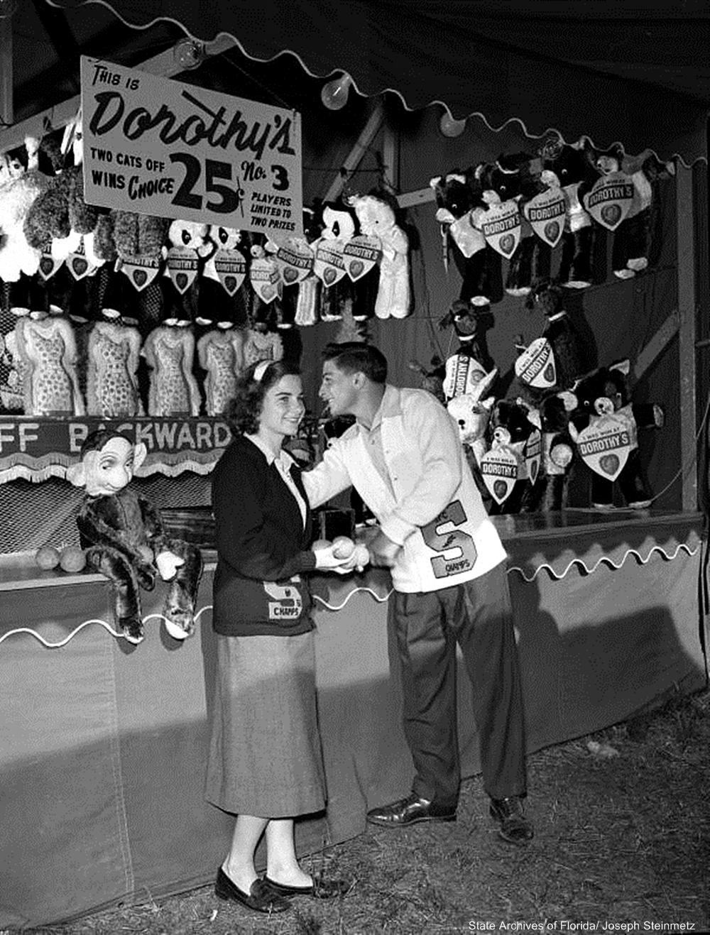 1952 Kids at a Fair
