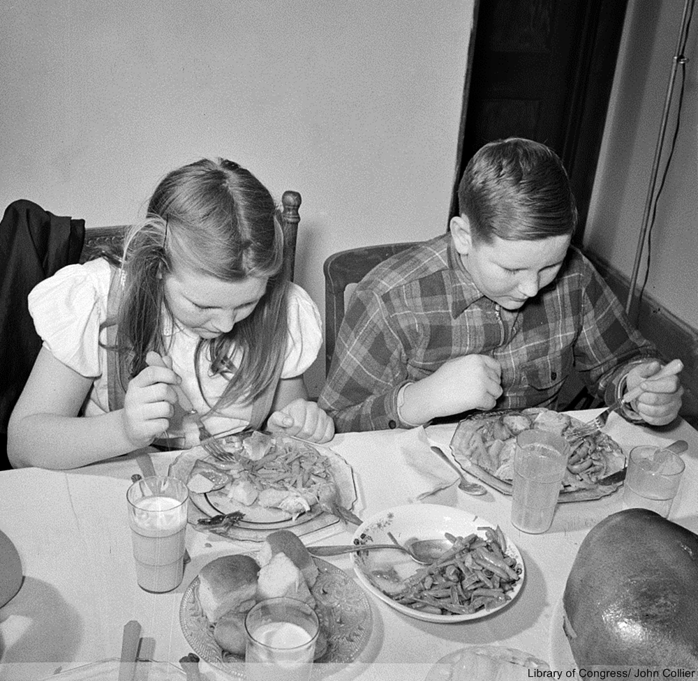 1942 Dinner in Maryland