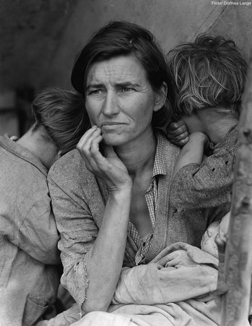 Dorothea Lange Depression Family 1936