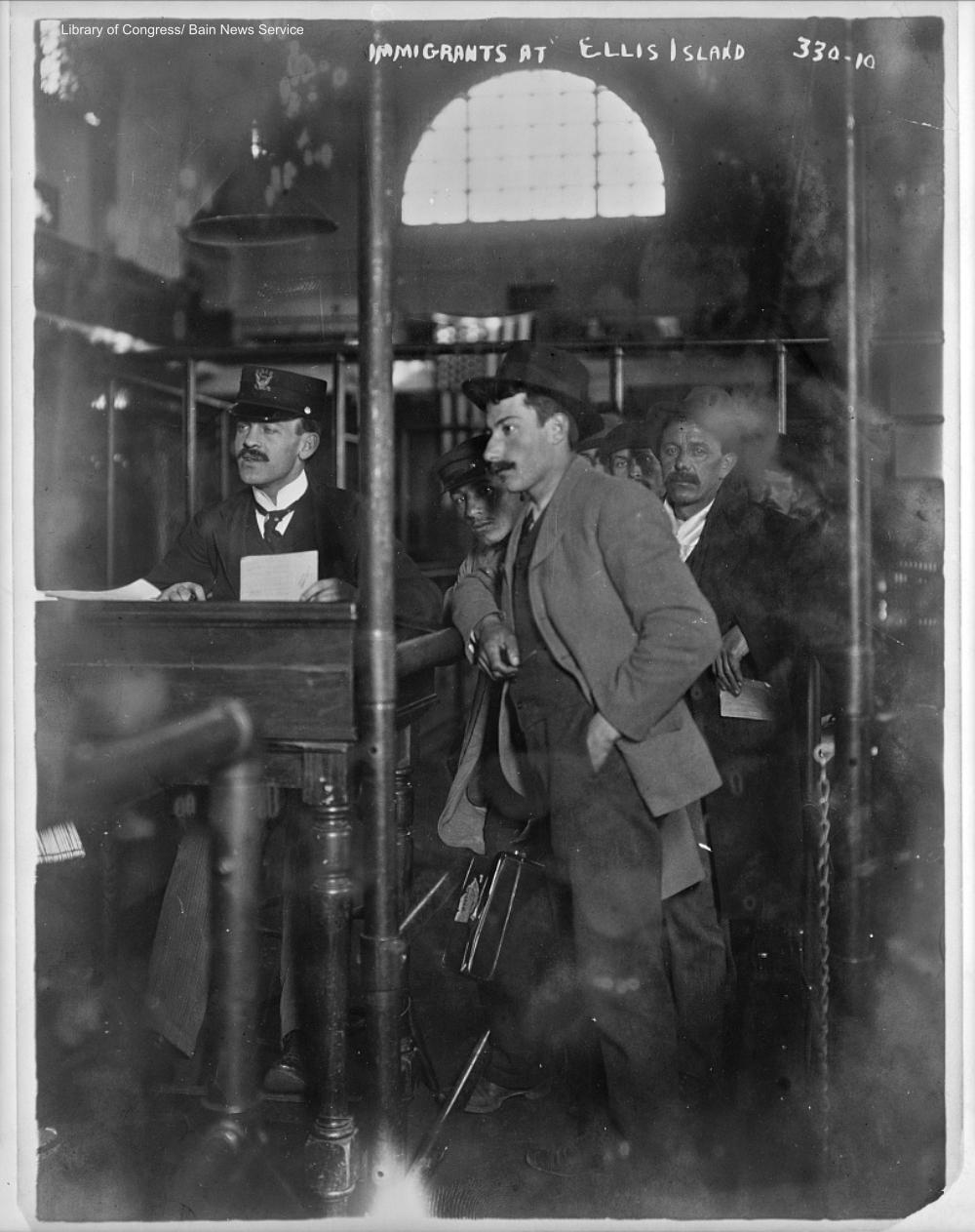 Ellis Island Circa 1910
