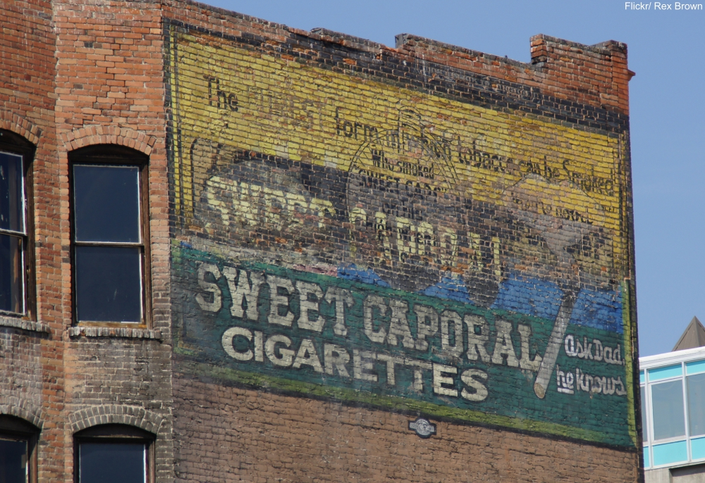 Butte, MT, ghost sign.