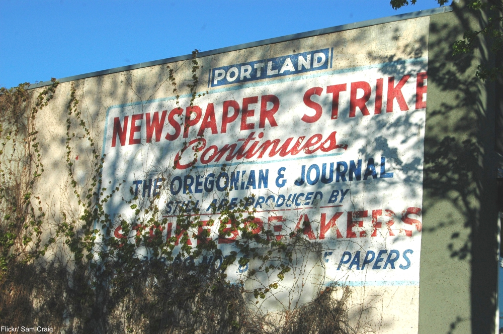 Portland, OR, ghost sign