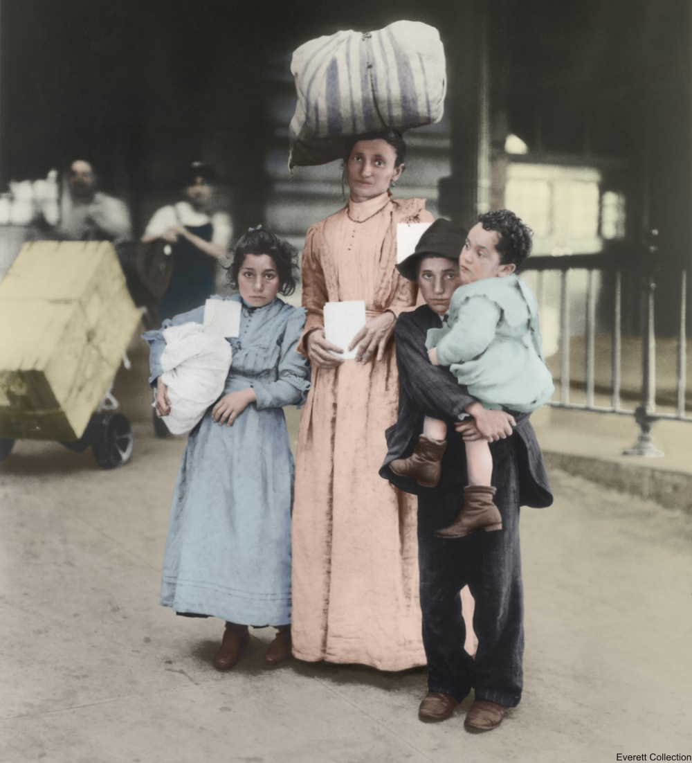 Italian Immigrants Circa 1910