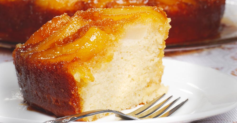 Caramelized Pears And Butter Cake. Need I Say More?