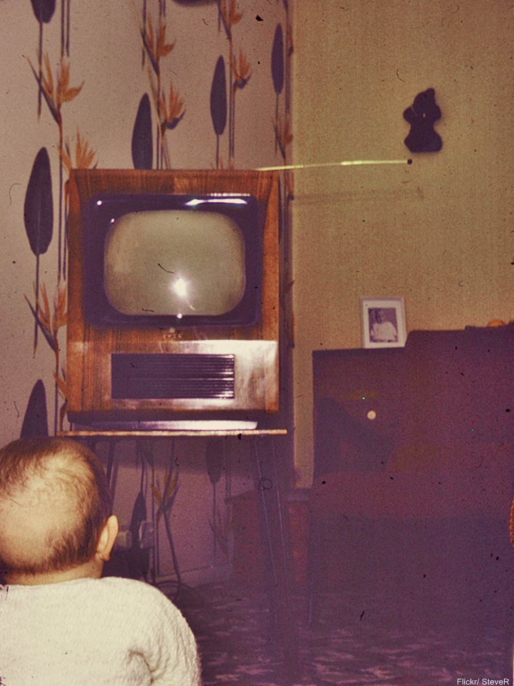 1962 TV in Living Room