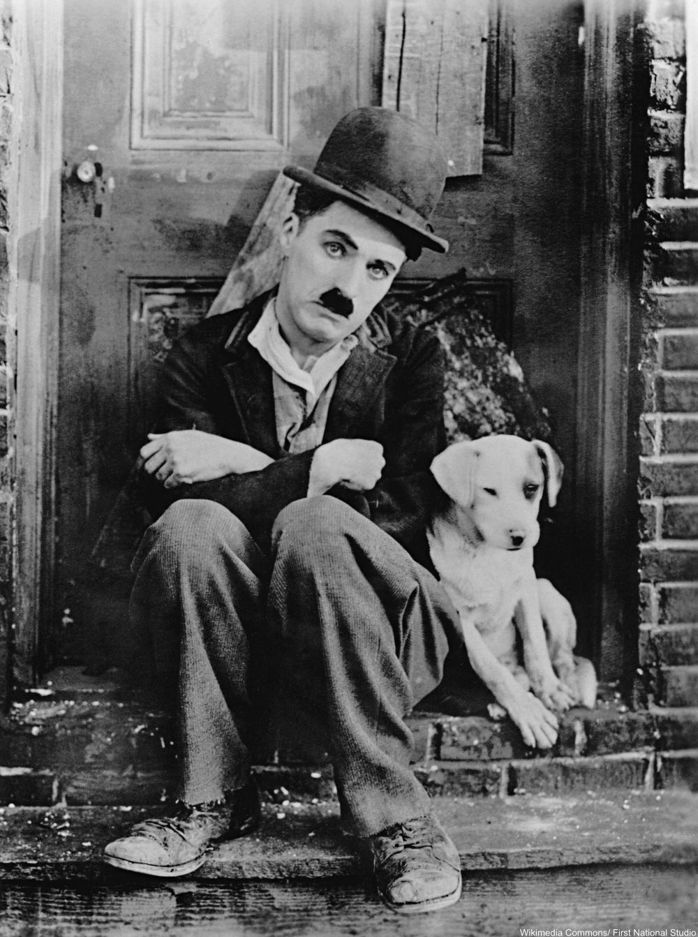 Charlie Chaplin promo for A Dogs Life 1918