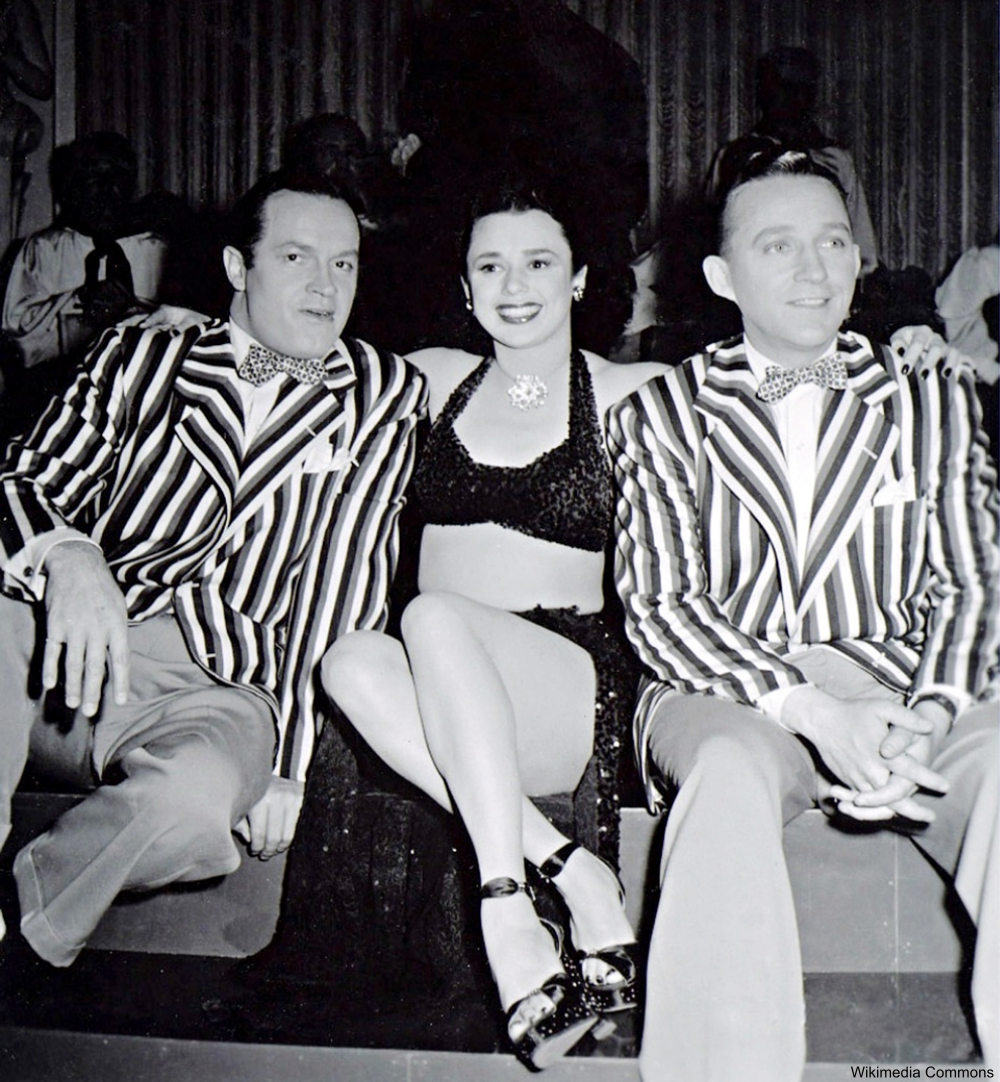 Marquita Rivera Bob Hope Bing Crosby
