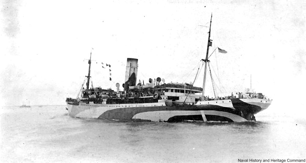 USS Tenadores 1918.