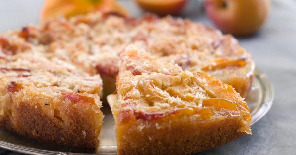 peach-cake