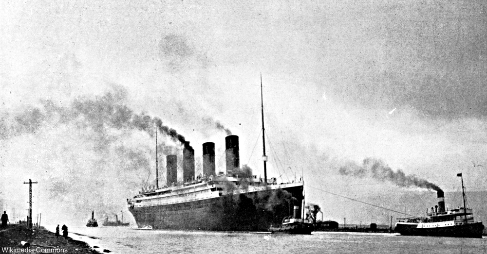 The Titanic on trial runs