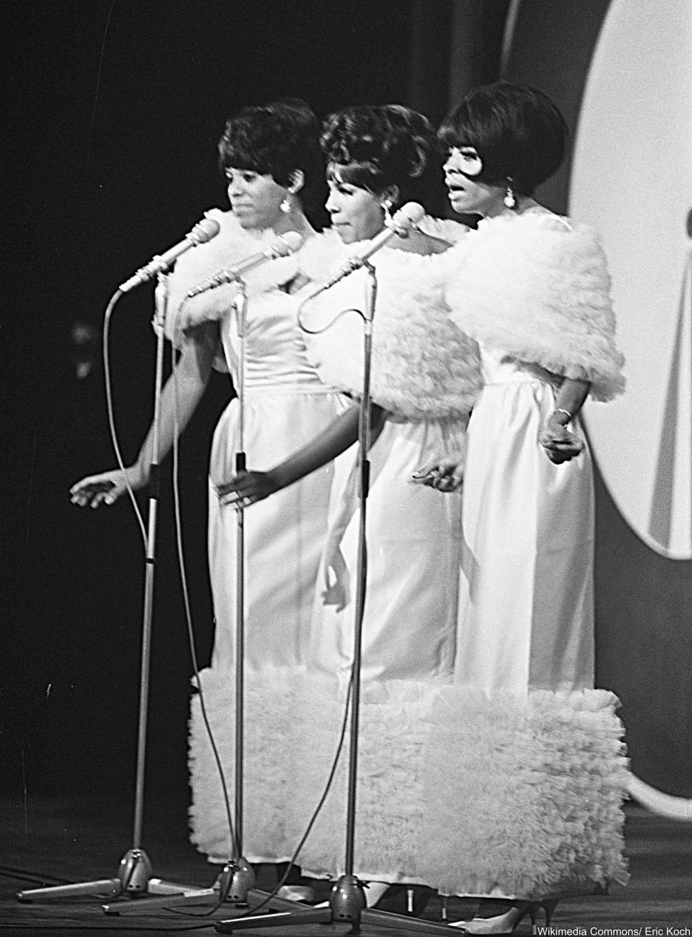 Diana Ross and the Supremes circa 1965