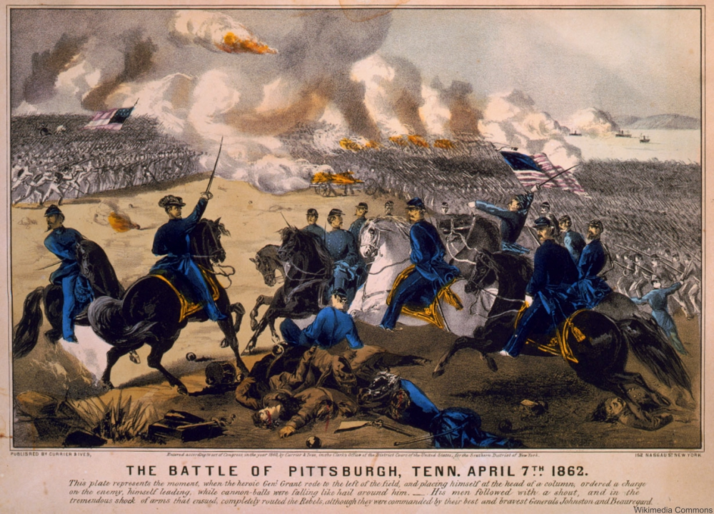 Battle of Shiloh AKA Battle of Pittsburg Landing
