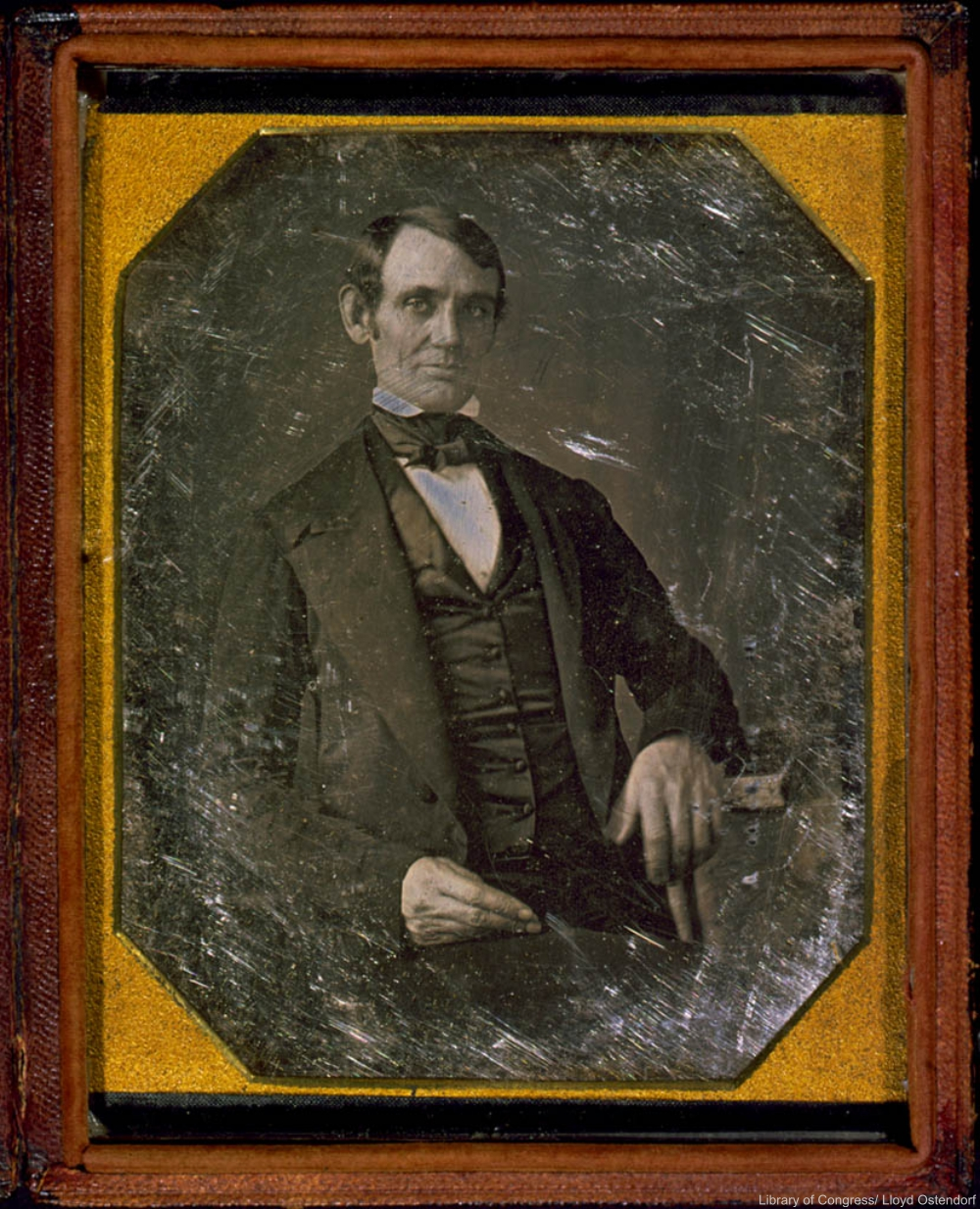 1840s Photograph of Abraham Lincoln.