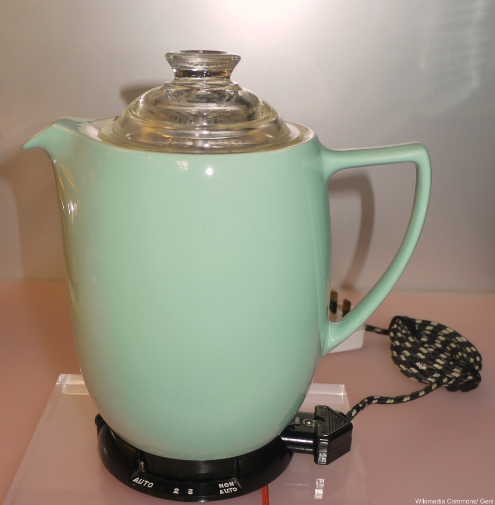 Coffee Percolator- Technology Items We Miss