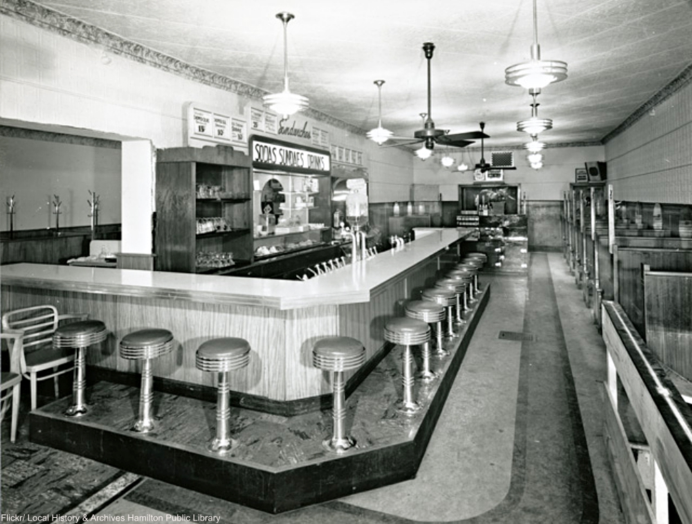The Majestic Restaurant in 1933