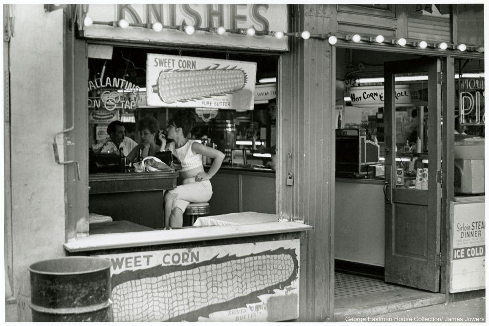Coney Island diner, 1966.