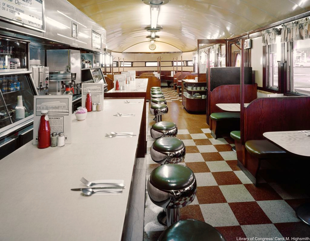Modern Diner, Pawtucket, Rhode Island