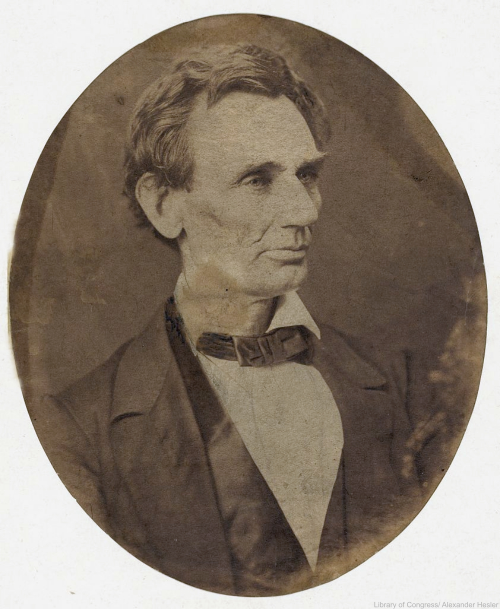 Presidential Candidate Abraham Lincoln