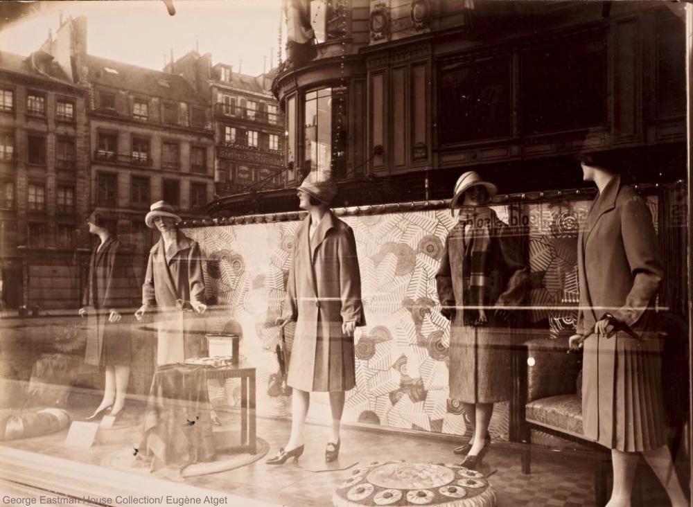Eugène Atget 1920s Shop Windows Bon Marche