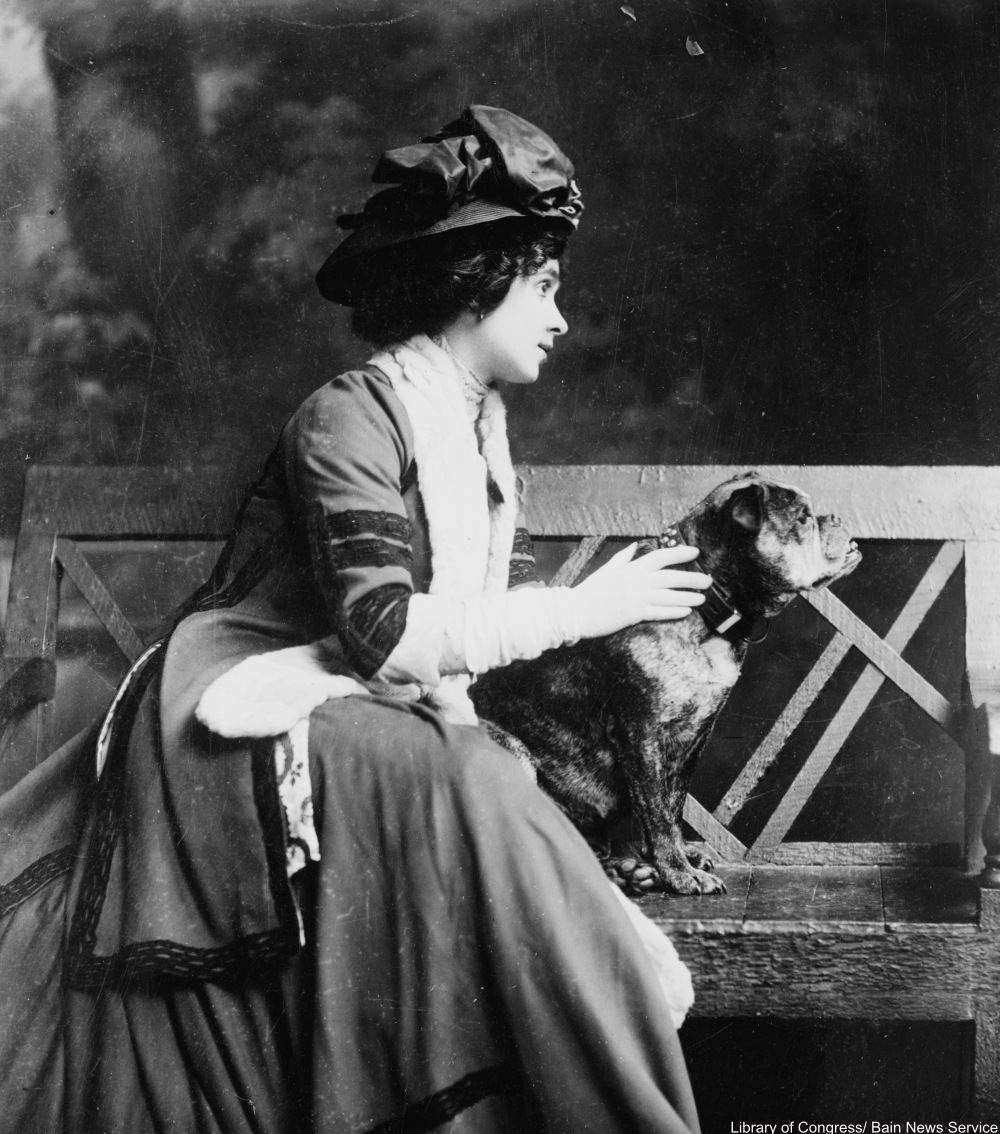 Pet-crazy vintage photos