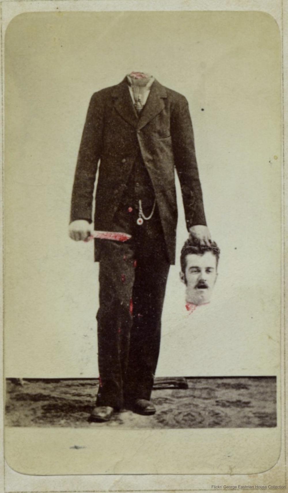 Photomontage circa 1875.