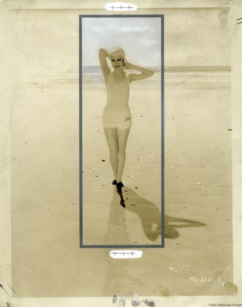 Retouched photograph, 1932.