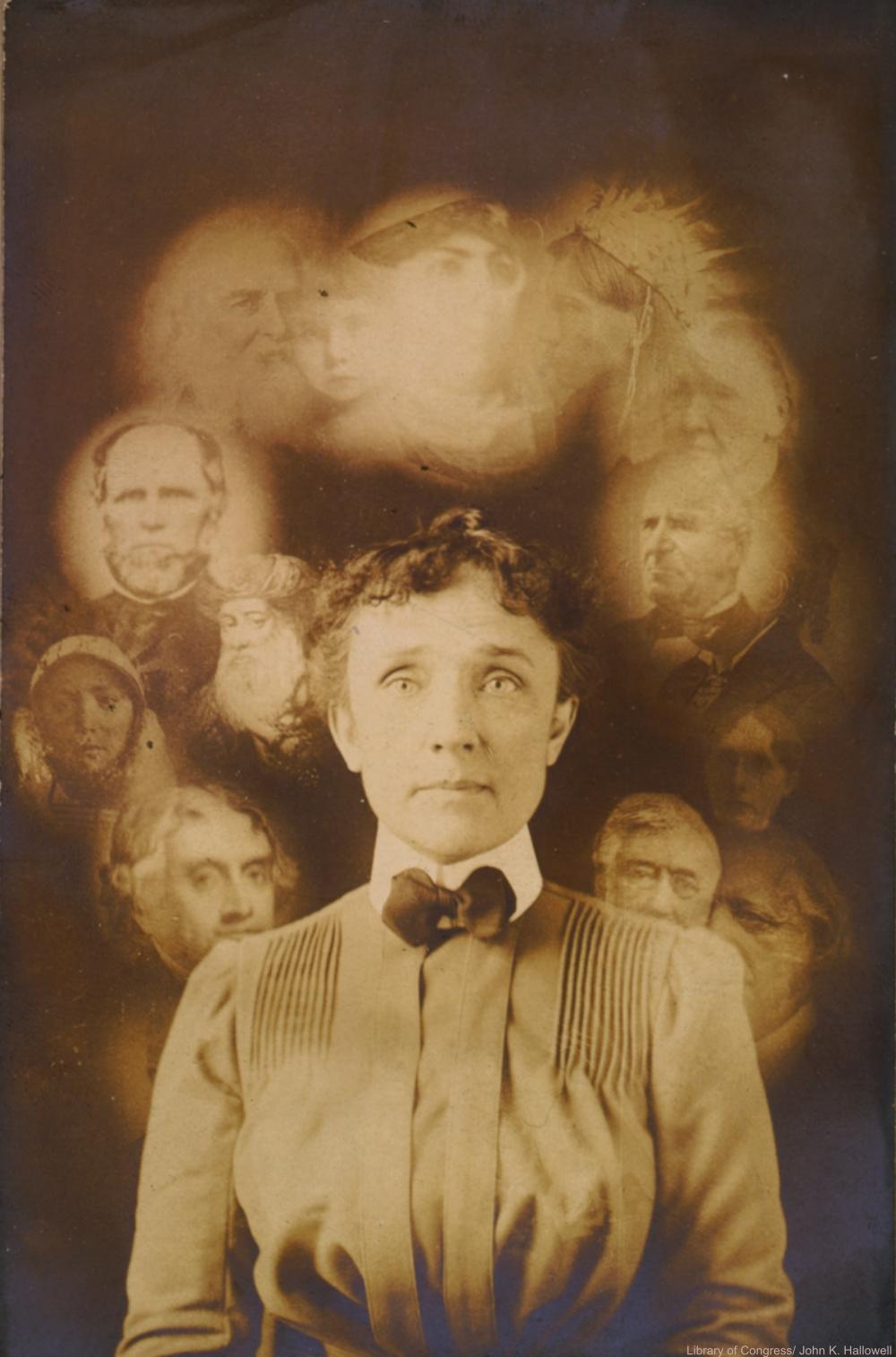 Spirit photography 1901