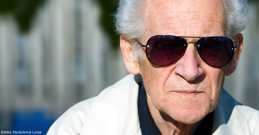 Old Man in Sunglasses