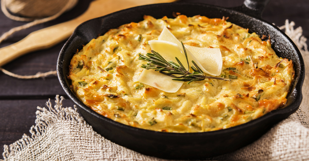 cheesy potato skillet