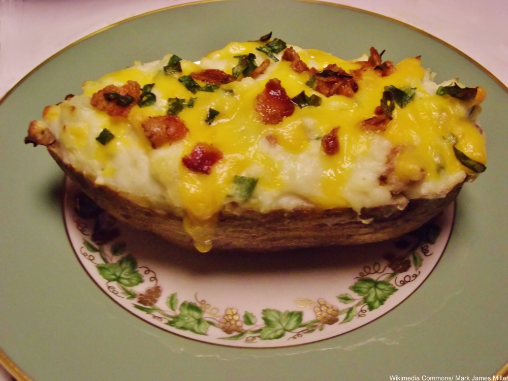 twice-baked potatoes- distinctly '70s recipes