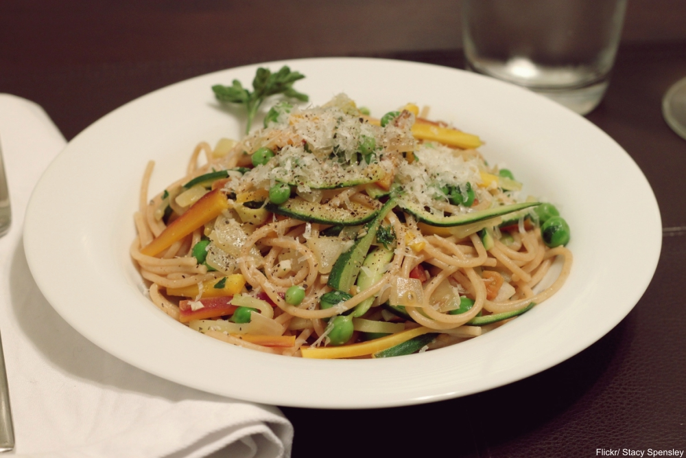 pasta primavera - distinctly '70s recipes