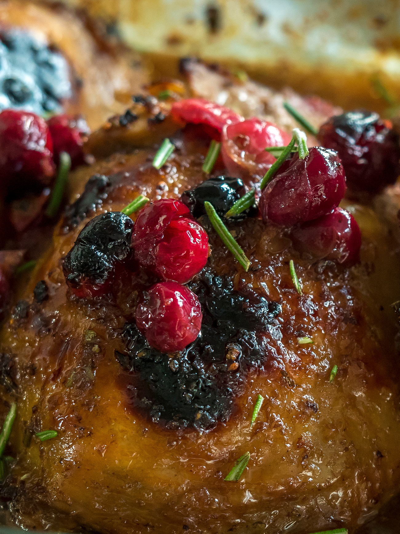 Roasted Balsamic Cranberry Chicken Vertical 2