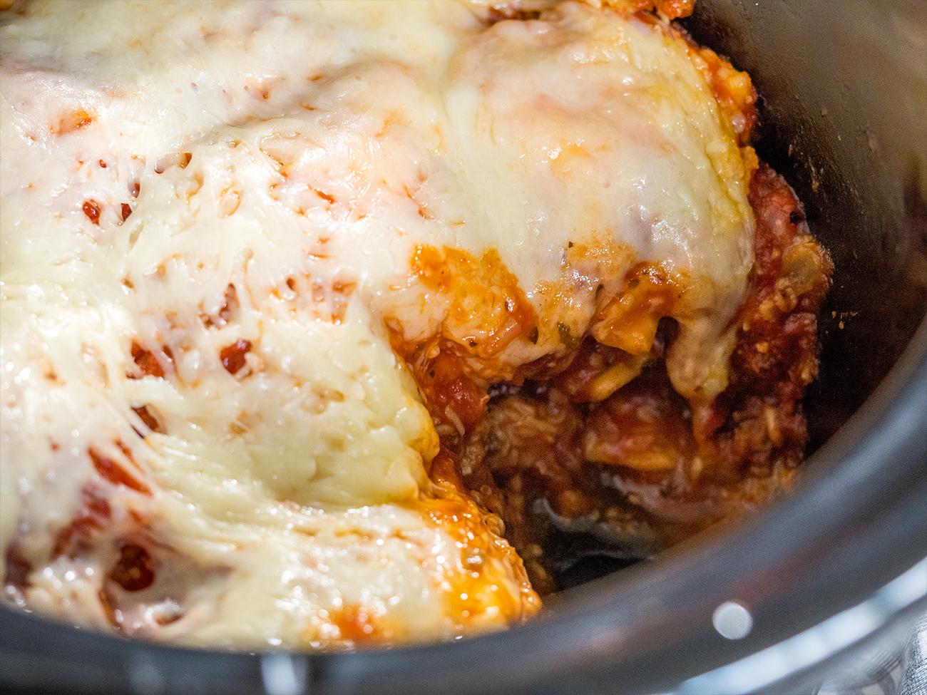 Slow Cooker Lasagna Horizontal 2