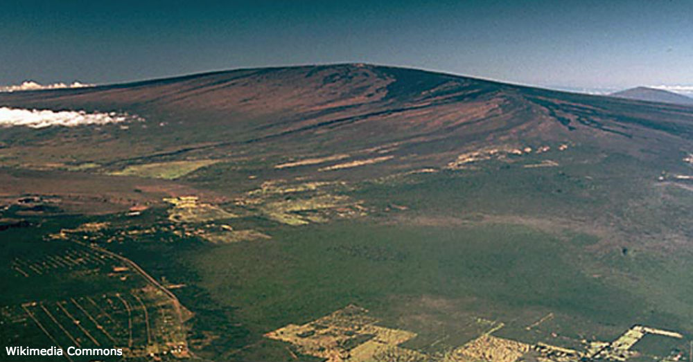 Mauna Loa is the biggest volcano in Hawai'i, and possibly the largest on earth.