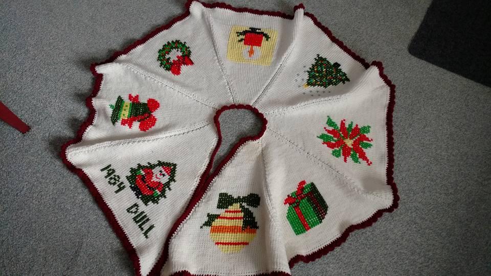 crochet tree skirt 7