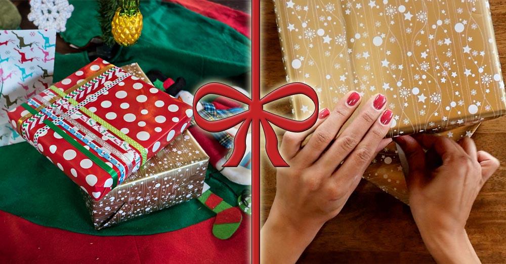 wrap presents 1